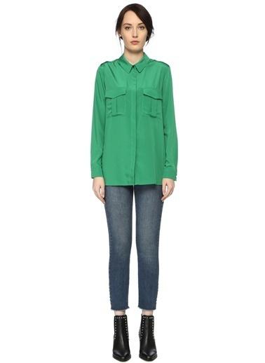 Que Gömlek Yeşil